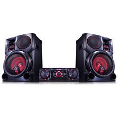Sistema Mini Hi-Fi CM9760 Potenza Totale 3300W USB Bluetooth
