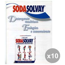 Set 10 Soda 1 Kg. Detergenti Casa