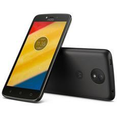 "Moto C Plus Nero 16 GB 4G / LTE Dual Sim Display 5"" HD Slot Micro SD Fotocamera 8 Mpx Android Italia"
