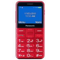 "KX-TU150 Senior Phone Display 2.4"" Micro SD Bluetooth con Tasti Grandi + SOS Colore Rosso"