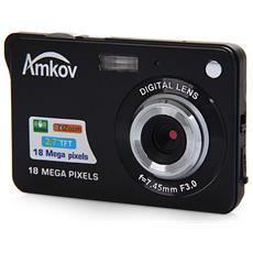 Amkov Cdc3 2,7 Pollici Tft Schermo 18.0 Mp Cmos 5.0 Mp Fotocamera Digitale Anti-shake Con Zoom Digitale 8x