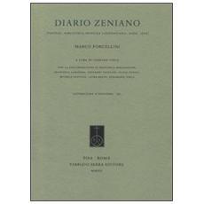 Diario zeniano (Firenze, Biblioteca Medicea Laurenziana, Ashb. 1502)