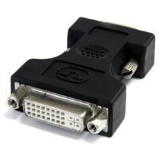 Adattatore Cavo DVI a VGA - Colore Nero - F / M