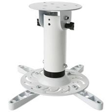 ICA-PM 200WH - Staffa Universale a Soffitto per Proiettori Bianco