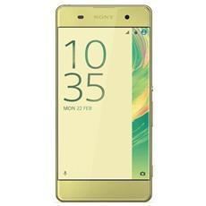 "Xperia XA Oro / Lime 16 GB 4G/LTE Display 5"" HD Slot Micro SD Fotocamera 13 Mpx Android Italia"