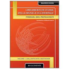 Lineamenti di storia della musica occidentale. Vol. 1