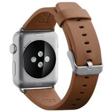 Cinturino classico in pelle da 42 mm per Apple Watch - Tan
