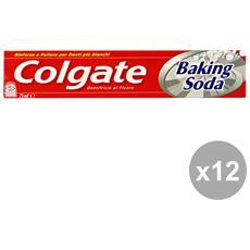Set 12 Dentifricio Baking Soda 75 Ml. Prodotti Per Il Viso