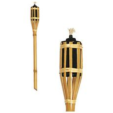 Torcia In Bamboo 180cm Lanterna Olio Lampada 2062/5