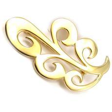oro placcato pin 'chorégraphie' - [ k4562]