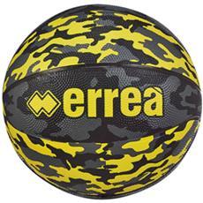 Ber5 Pallone Basket Nero Giallo fluo Antracite N. 5 Articolo Ea2i0z33920