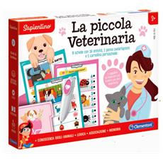 -16157-sapientino-la Piccola Veterinaria, Gioco Educativo, Multicolore, 16157
