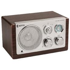 HAV-TR1000, AA, Portatile, Analogico, Analogico, AM, FM, Batteria, DC