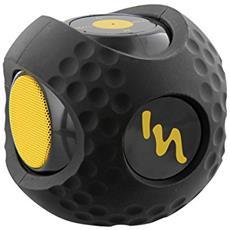 Sport Ball Mono portable speaker 3W Nero, Giallo