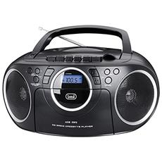 0CM57200 Digitale 20W Nero, Argento radio CD