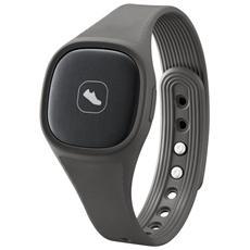 AN900 Braccialetto Fitness connessione Bluetooth Contapassi Calorie e Sonno compatibile con Android 4.3 - Grigio