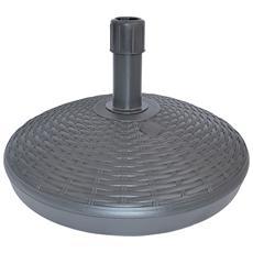 Base per Ombrellone Antracite 30 cm