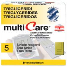 Strisce trigliceridi 5 pz.
