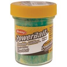 Pasta Powerbait Glitter Trout Bait Verde Giallo Unica