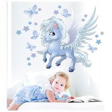 Adesivo Murale Unicorno magico