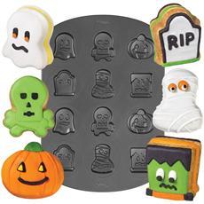 Piastra Antiaderente Mini Mostri Di Halloween