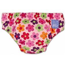 Costumino Bambino Mio Slip Contenitivo Pink Daisy 6-12 M
