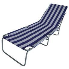 Lettino Spiaggia Taormina Stripes