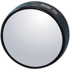 50mm Specchio Tondo Retrovisore Convesso Int Auto Per Retrovisori Laterali Regolabile A 360°