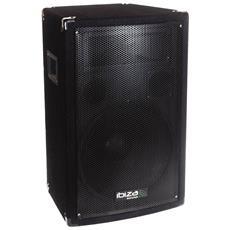 """Audio Dell'altoparlante Passivo Trapezoidale 10 """""""" / 25 Centimetri 3 Vie 400w Bass Reflex - Ibiza Luce Disco10b"""