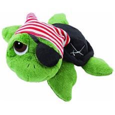 Pirate, Toy turtle, Nero, Verde, Rosso, Bianco