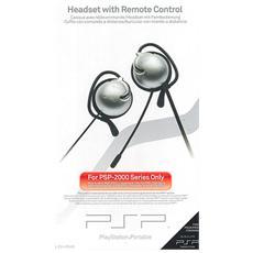 PSP - Set Cuffie Headset + Telecomando