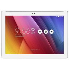 "Tablet ZenPad Z300C Bianco 10.1"" Quad Core RAM 2GB Memoria 32 GB +Slot MicroSD Wi-Fi - 4G Fotocamera 5Mpx Android - Italia"