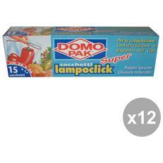 Set 12 Freezer Apri E Chiudi Scatola 26x28 10 Pezzi Contenitori Per La Cucina