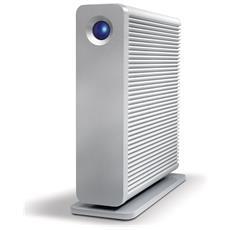 Hard Disk Portatile D2 Quadra 6 TB Interfaccia USB 3.0 Color Argento
