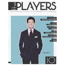 The players. magazine. fashion style, contemporary design, travel. 10.