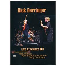 Dvd Derringer Rick - Live At The Chen. . .