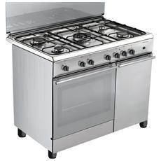 Bompani cucina elettrica bo943ca l 5 fuochi gas forno - Consumo gas cucina ...