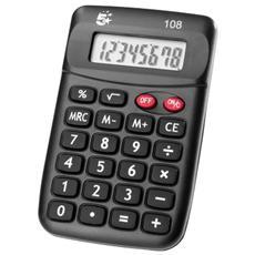 pz. 1 Calcolatrice tascabile 108 8 KC-889