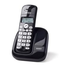 *Telefono Cordless Dect Gap - Display Lcd 1 Riga - Vivavoce - Slim Nero