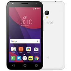 "Pixi 4 (5) Bianco 8 GB Dual Sim Display 5"" Slot Micro SD Fotocamera 8 Mpx Android Italia"