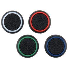 Set Grip Gommini Stick Analogico Nero / color Per Controller Ps4-ps3-xbox One-360