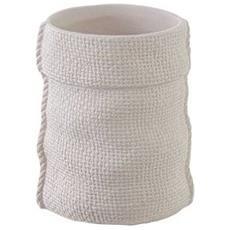 Portaspazzolino Bianco Sacco - Bianco