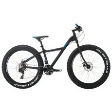 Fat Bike Cinzia Xx Fat 26 Alluminio Tx800 21 Velocita - Nero - Blu - Grigio