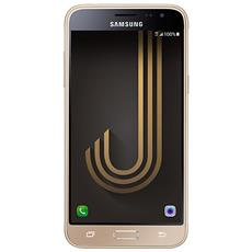 """Galaxy J3 (2016) Oro Dual Sim Display 5"""" HD Quad Core Ram 1.5GB Storage 8GB +Slot MicroSD WiFi Bt 4G / LTE Doppia Fotocamera 8Mpx / 5Mpx Android - Italia RICONDIZIONATO"""