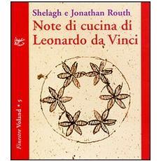 Note di cucina di Leonardo da Vinci