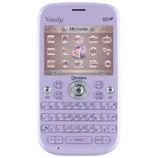 "Vanity Qwerty Lilla Dual Sim Display 2.4"" +Slot MicroSD Bluetooth Fotocamera 1.3Mpx"