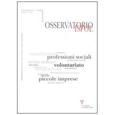 Osservatorio Isfol (2011) vol. 3-4