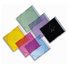 ICA-CD 001 - Porta Cd Jewel Case Nero 10,4 mm