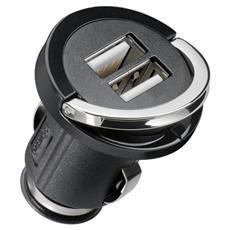 IUSB2-CAR-ADP212 - Adattatore da Auto 2 x USB per Presa Accendisigari da 2100mAh