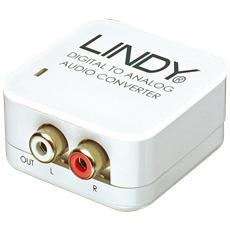 Convertitore Audio SPDIF Digitale > Analogico RCA